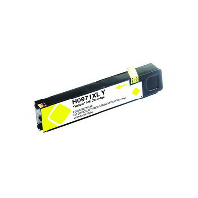 CN628AM 971XL Yellow Inkjet AIM Compatible Replacement for HP NO 6600 Page Yield - Generic